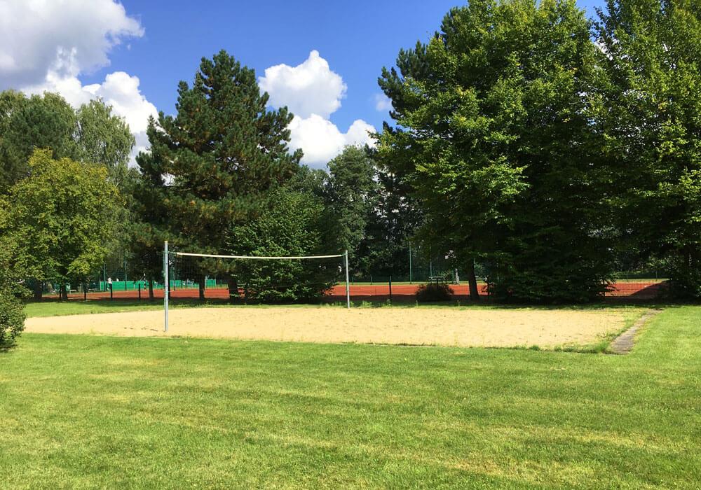 Beach-Volleyball Spielfeld