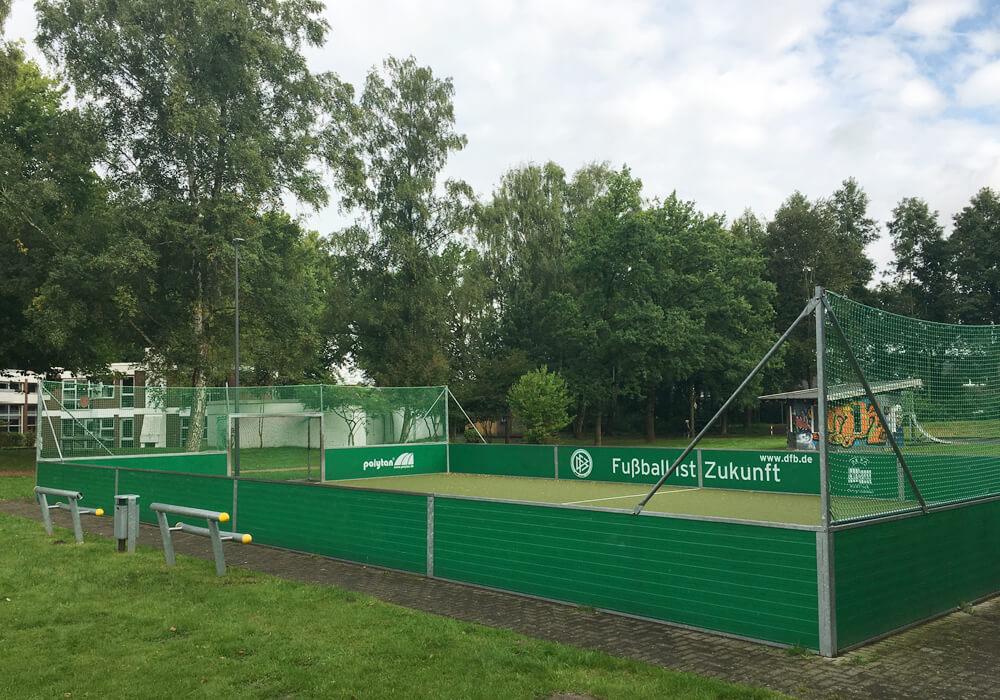 DFB-Minispielfeld mit Kunstrasen