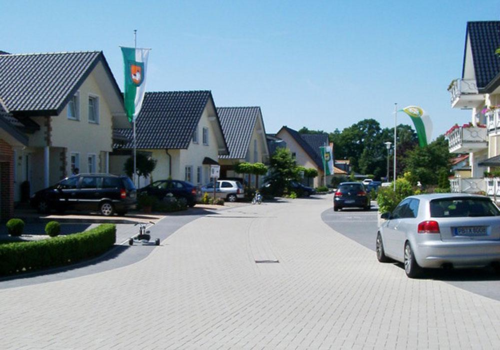 Pflasterarbeiten Spielstraße